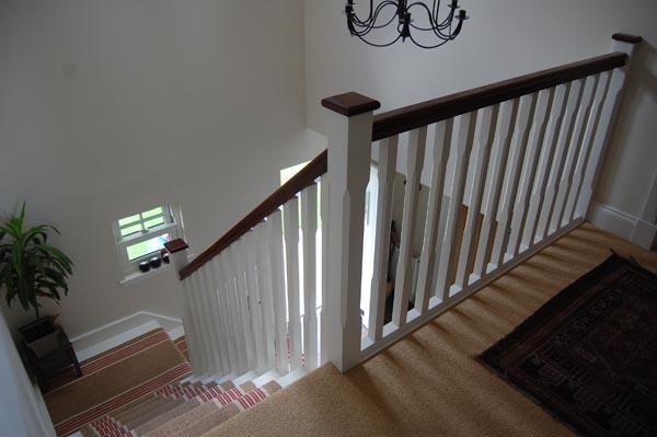 Blairgowrie Farmhouse Staircase With Balustrading
