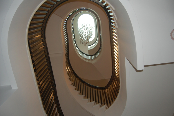 Continuous handrails by Staircase Renovations Scotland