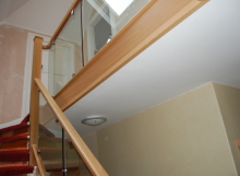 Curved handrail Staircase
