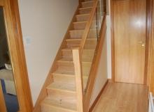 Glass Staircase renovation Livingston