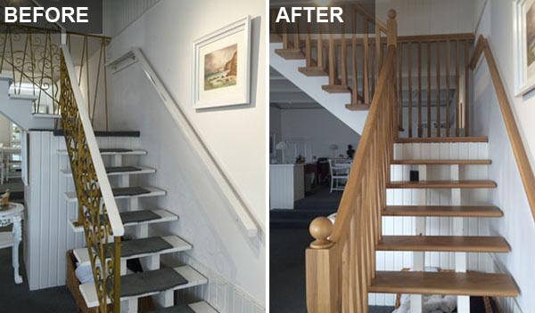 Staircase Renovations Scotland Wooden Staircase Before