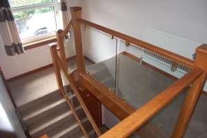 Timber and Glass Staircase St Andrews