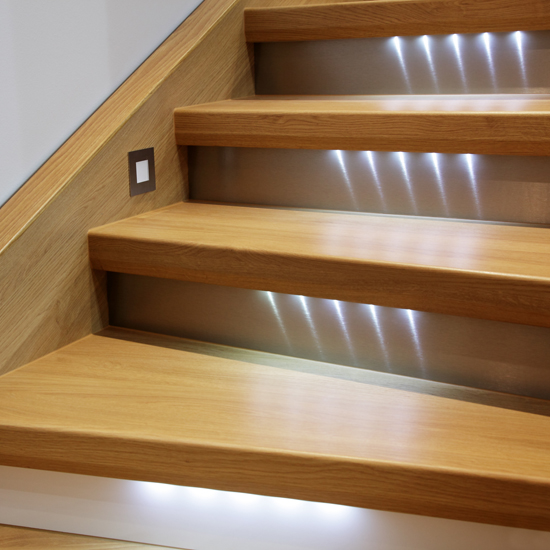 Staircase with-lights