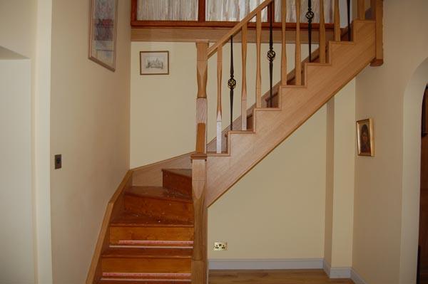 Staircase Renovations Scotland American White Oak And