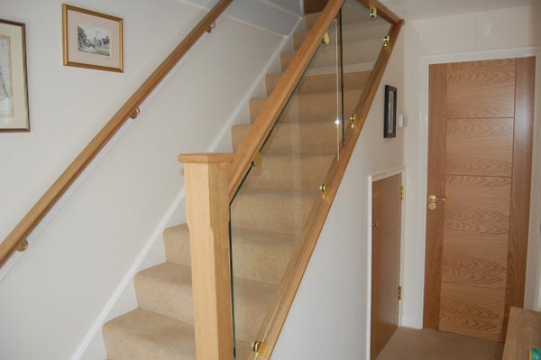 Staircase Renovations Scotland American White Oak With
