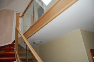 Curved handrail Staircase ABERDEEN