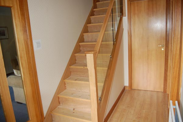 Glass Staircase renovation Livingston