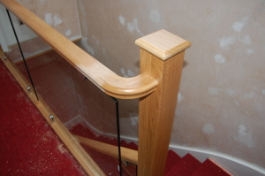 Return curved handrail bend-Aberdeen