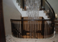 handrails - Staircase renovations Scotland